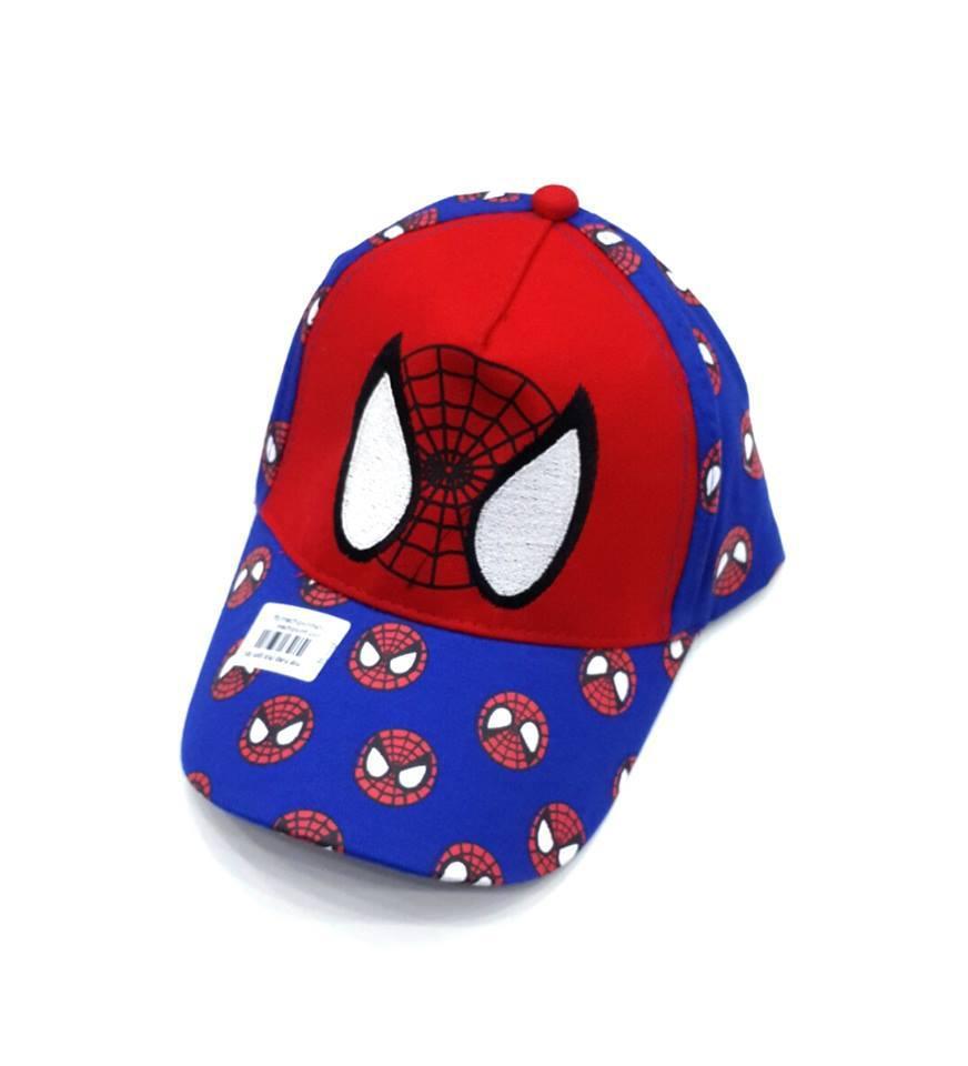 Mũ lưỡi trai Spider man người nhện bé trai