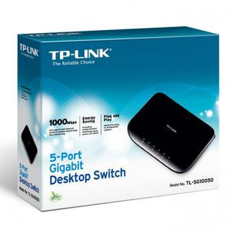 Switch 5Port Gigabit TP LINK TL-SG1005D