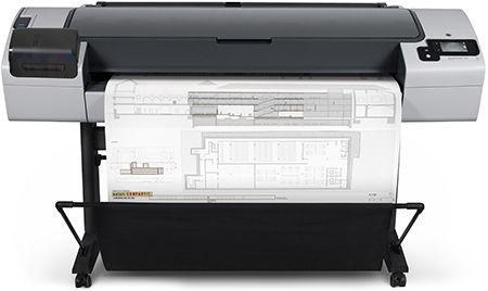 B3P24A Mực in HP 727 màu Gray cho máy HP T1200, T1300, T2300, T795