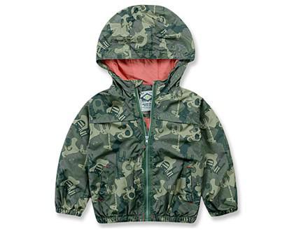 Áo gió siêu nhẹ 2 lớp có mũ cho bé từ 2 đến 8 tuổi
