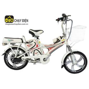 Xe đạp điện Bmx Hummer 18 inch (Trắng)