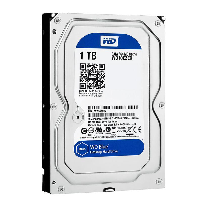 Ổ cứng HDD WD Blue WD10EZEX 1TB