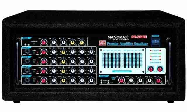 Amply Nanomax ST-568E, amply nanomax, amply karaoke chuyên nghiệp, amply chất lư