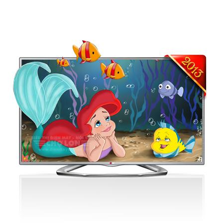 TV LED 3D LG 32LA613B 32 INCHES HD READY MCI 100HZ