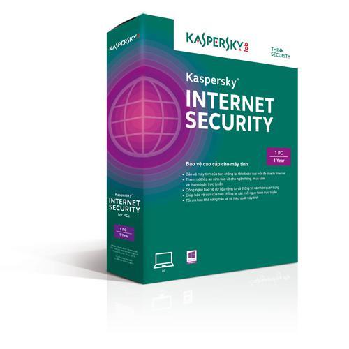 Kaspersky Internet Security 2016 - 1PC