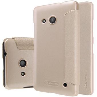 Bao da Nillkin cho Microsoft Lumia 550 (Vàng)