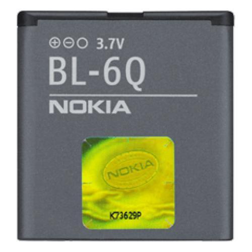 Pin Nokia BL- 6Q (Xám)