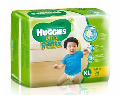 Tã-bỉm quần bé trai Huggies XL24
