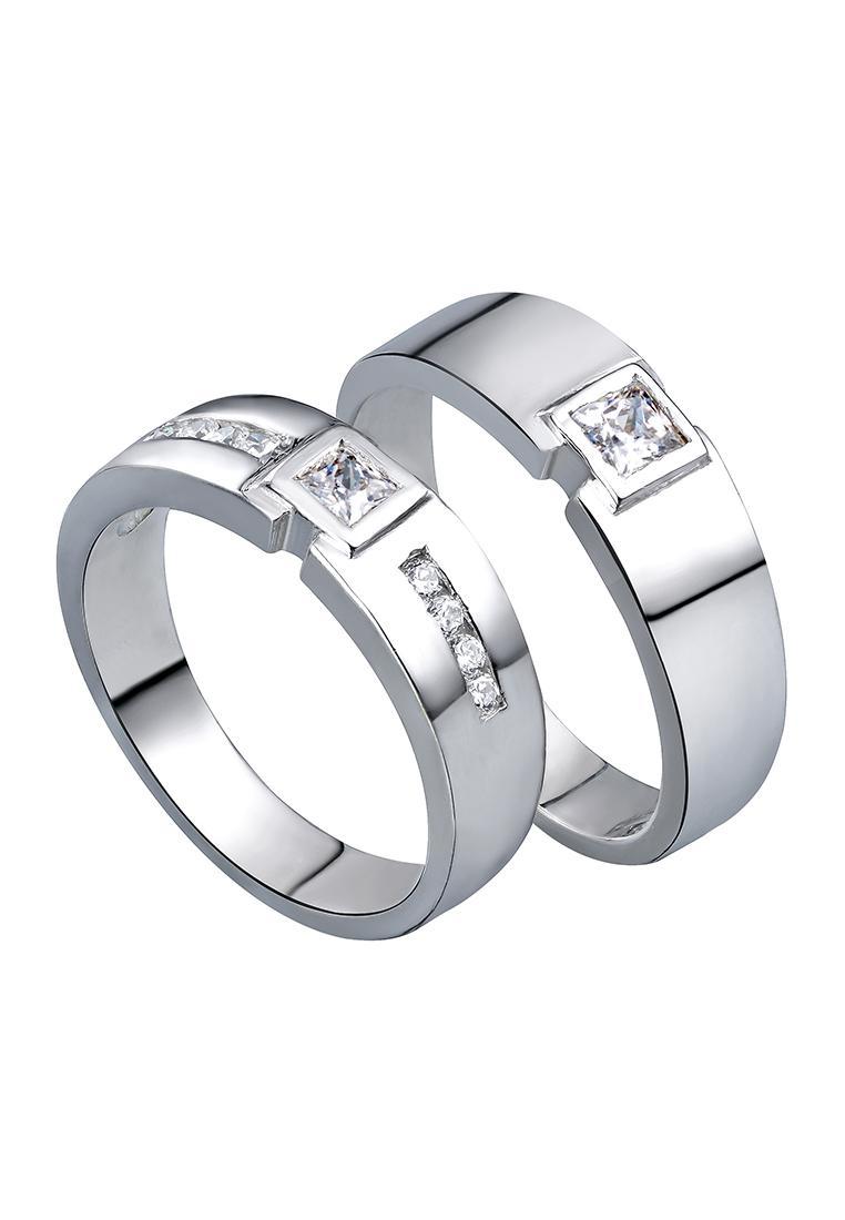 Nhẫn đôi Vudung Silver