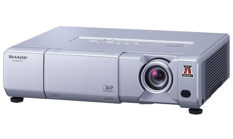 Máy chiếu SHARP PG-D50X3D