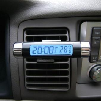 Đồng hồ gắn kính loại tròn USA Store XT-01 (Đen)