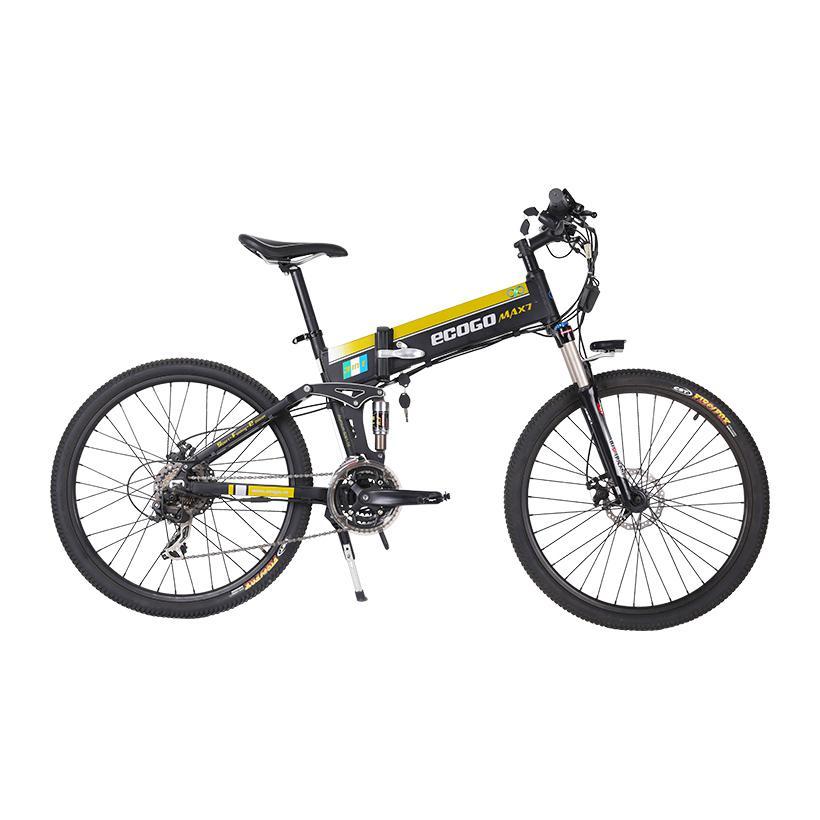 Xe đạp điện gấp Ecogo Max 7 (Màu đen)