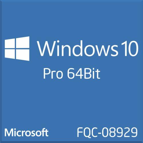 Phần mềm Microsoft Win 10 Pro 64Bit 1pk DSP OEI DVD (FQC-08929)