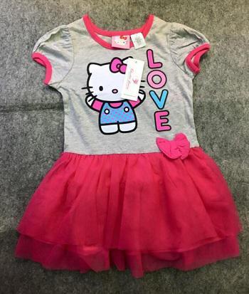 Đầm Bé Gái Hello Kitty size 5t