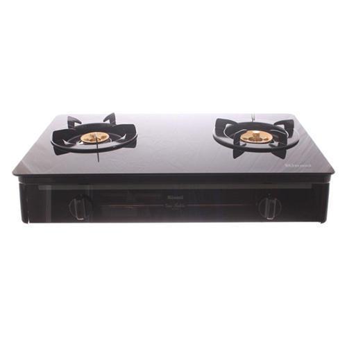 Rinnai RV-970(GL)/ 2 lò/ Đen / Bếp gas