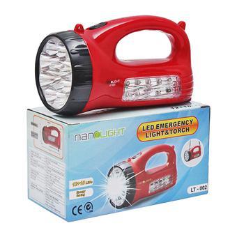 Đèn Pin Led sạc Nanolight LT-002 ( Đỏ)