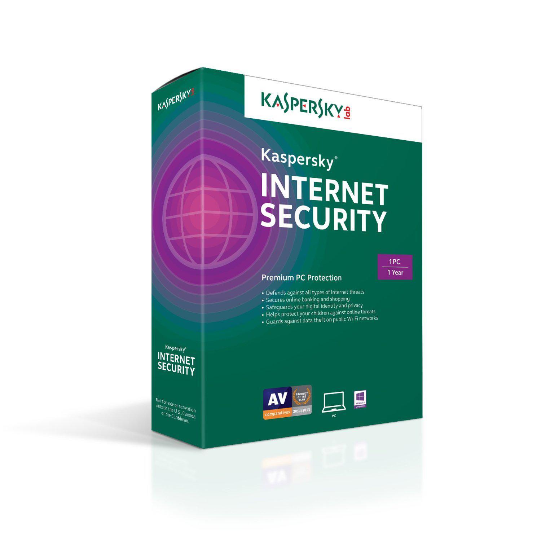 Phần mềm diệt virus Kaspersky Internet Security 2015 1PC