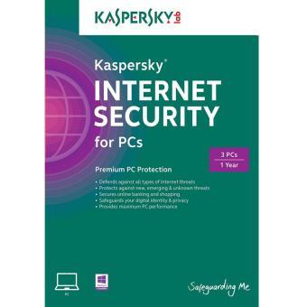 Phần mềm diệt virus Kaspersky Antivirus 2015 3PCs/1 năm