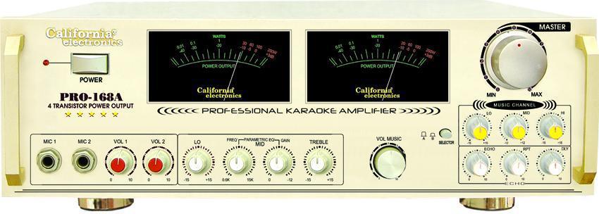Amply California Pro-168A, amply California, amply karaoke chuyên nghiệp, amply