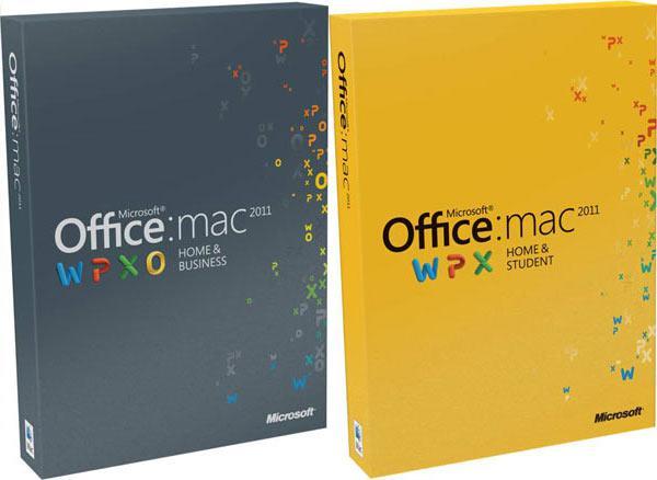 Office Mac Home Student 2011 EN DVD 1PK (GZA-00136)