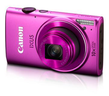 Máy ảnh Canon Digital IXUS 255 HS, Màu hồng