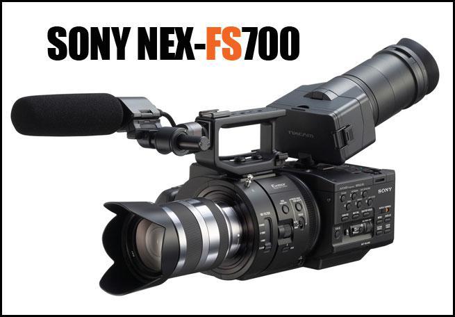Máy quay Sony NEX FS700