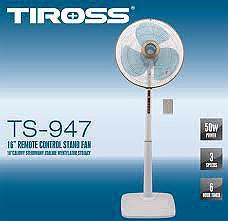 Quạt Cây điều Khiển Từ Xa Tiross TS-947 TS-947