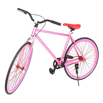 Xe đạp BMX Fix 4p Single Speed (Hồng) TTCO - 380_hồng