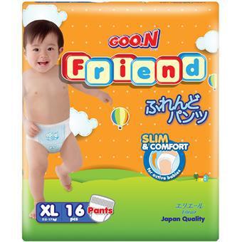 Tã quần Goon Friend XL16