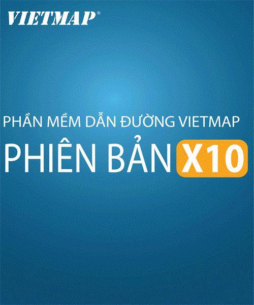 Phần mềm dẫn đường Vietmap X10