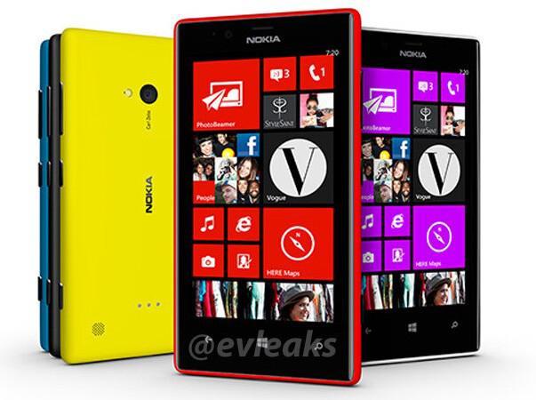 Điện Thoại Di Động Nokia Lumia 720 8GB 3G