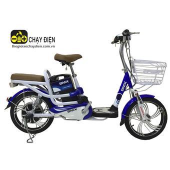 Xe đạp điện Bmx Classic nhún sau 18 inch (Xanh dương)