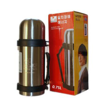 Bình giữ nhiệt nóng lạnh KINGFISH có dây đeo Hàn Quốc 750ml