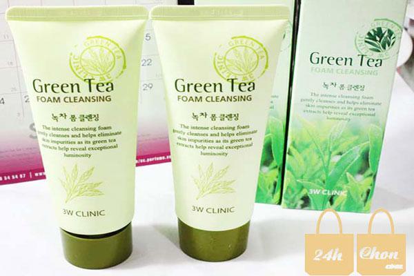 Sữa rửa mặt Green tea