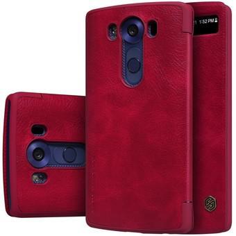 Bao da Nillkin QIN Series cho LG V10 (đỏ)