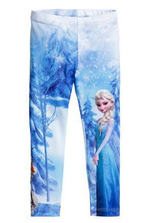 Quần H&M Leggings Frozen size 9/10