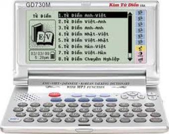Kim từ điển GD-730M - Anh-viet-han-nhat