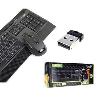 Bộ bàn phím và chuột không dây Fuhlen A300G (đen)