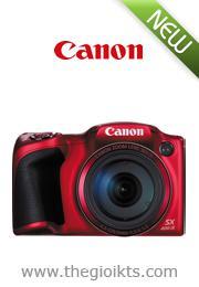 Máy ảnh Canon PowerShot SX400 IS Đen