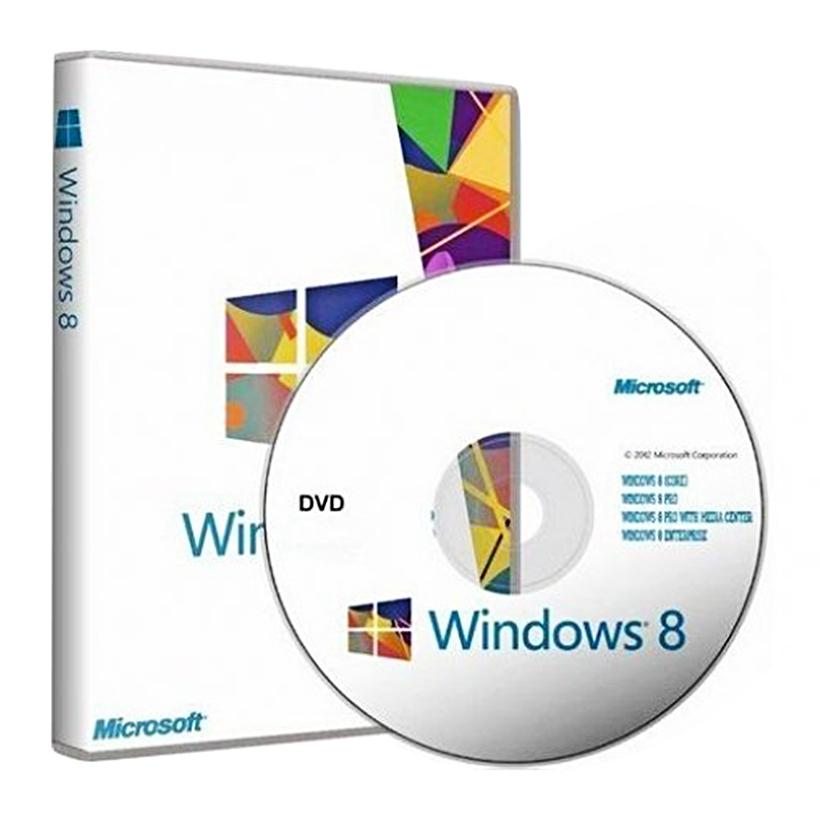 Phần mềm hệ điều hành Microsoft WINDOWS 8 64BIT ENG INTL 1PK DSP OEI DVD