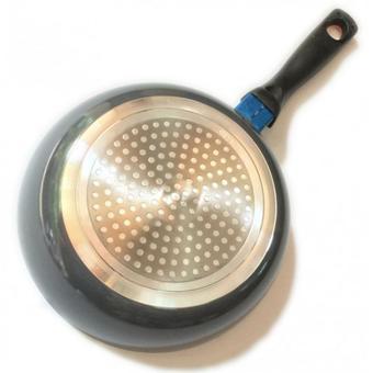 Chảo chống dính đáy từ Elmich 20cm EL-42020 (Xám đen)