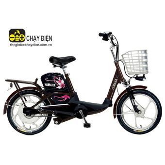 Xe đạp điện YAMAHA ICATS H4 (Nâu đậm)