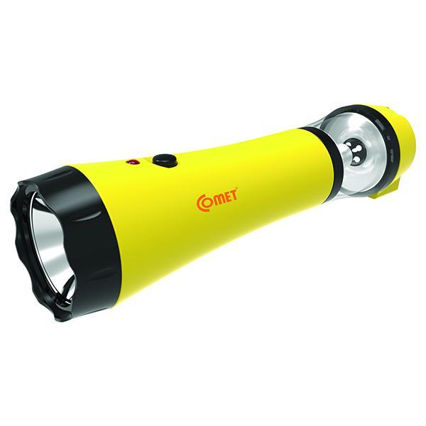 Đèn pin sạc LED Comet CRT13 (Vàng)