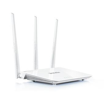 Thiết bị phát sóng WIFI 3 anten tốc độ 300M TENDA F3 (Trắng)