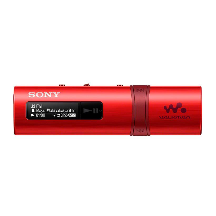 Máy nghe nhạc MP3 Sony NWZ-B183F/RCE Đỏ