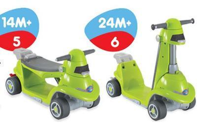 Xe chòi chân thông minh AIO SmartTrike 114218 xanh lá