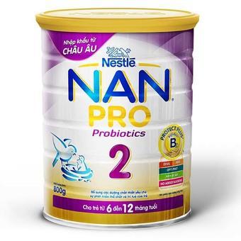 Sữa bột Nan Pro 2 Nestle 800g