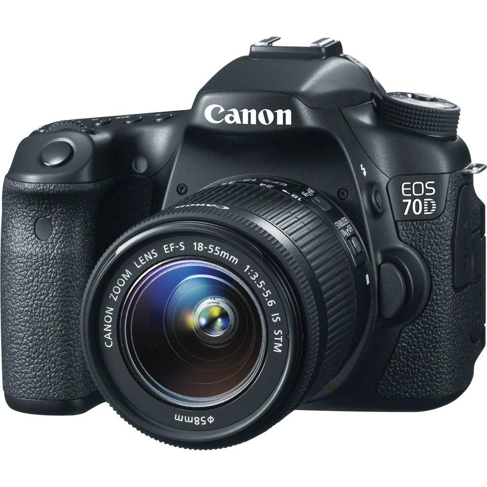 Máy Ảnh CANON EOS 70D kit Lens EF-S 18-55mm STM