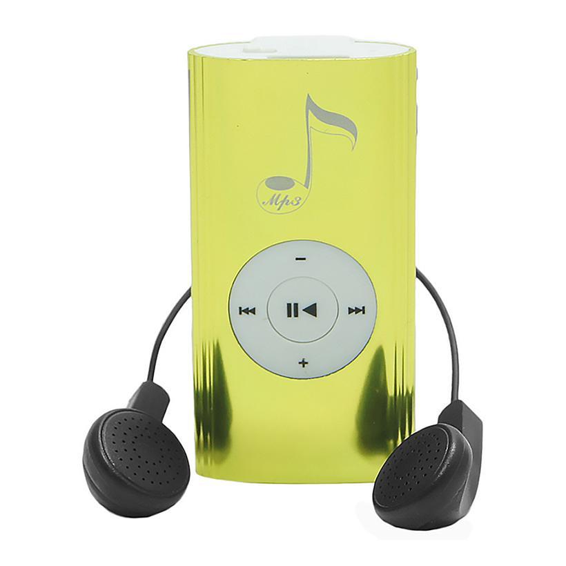 Máy nghe nhạc MP3 thân dài nốt nhạc Xanh lá