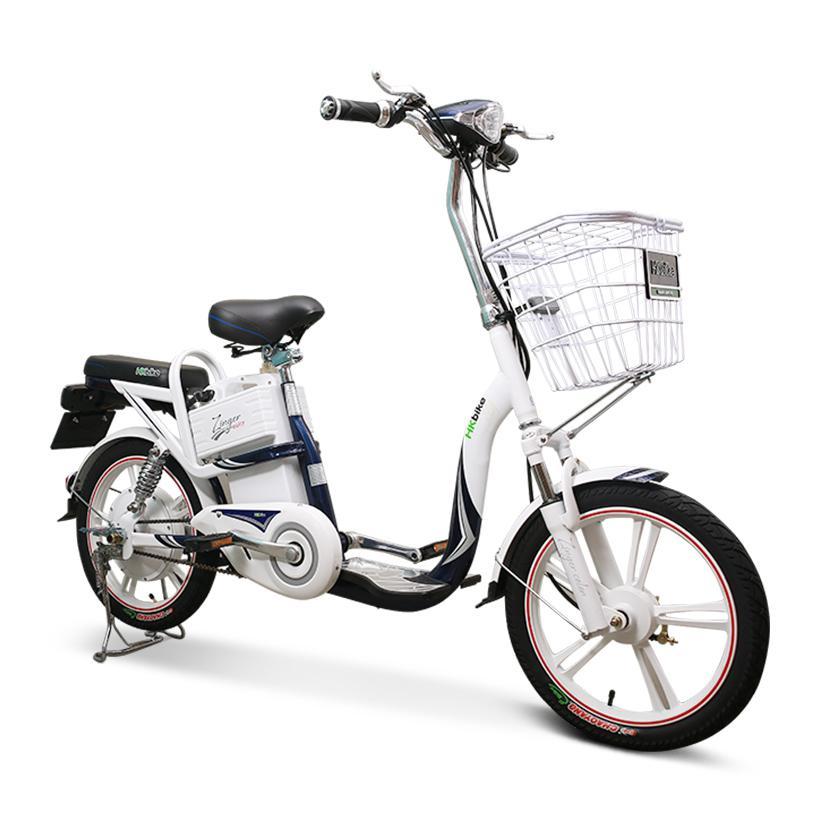 Xe đạp điện HKbike Zinger Color phiên bản chạy pin Samsung